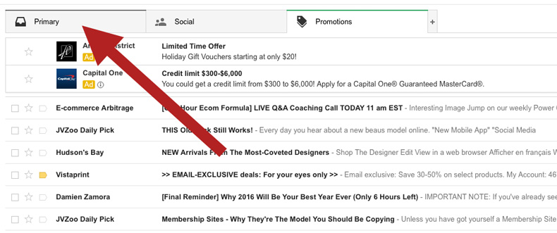 Gmail Primary